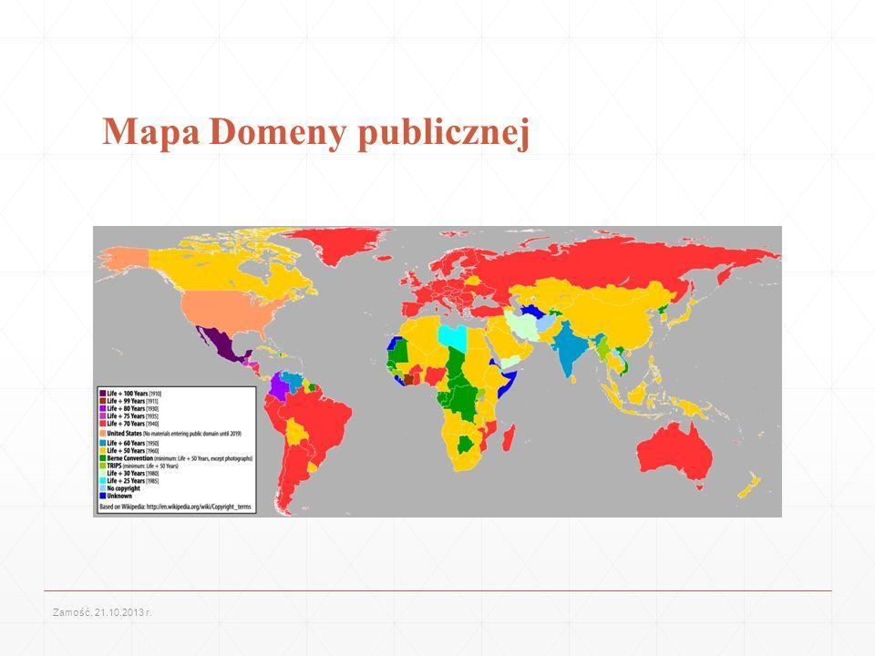 Mapa Domeny publicznej