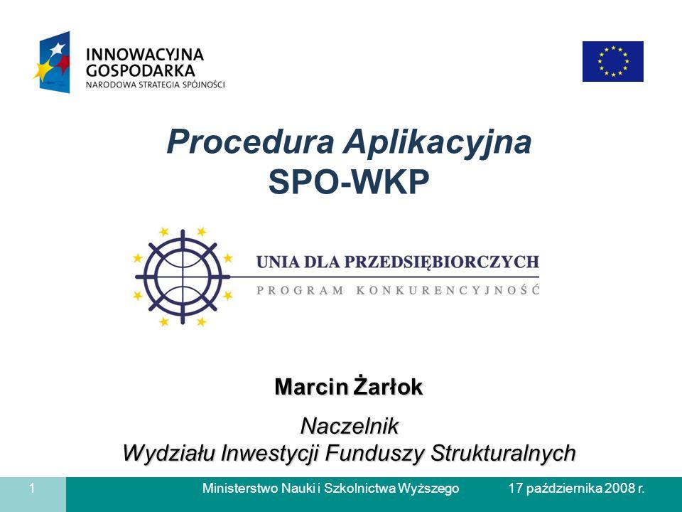 Procedura Aplikacyjna SPO-WKP