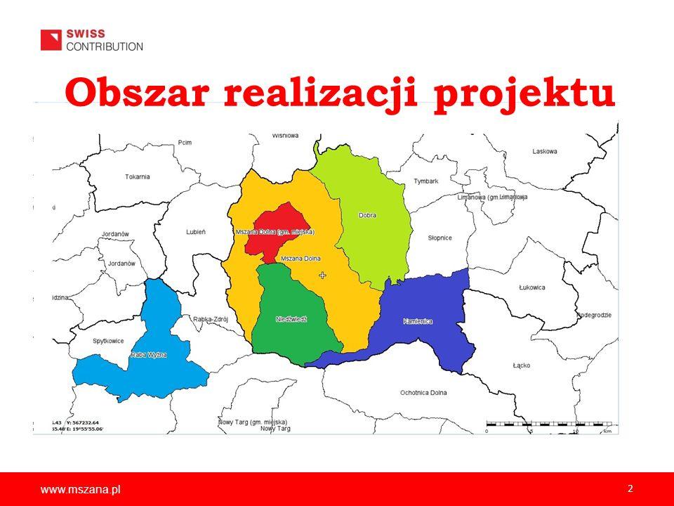 Obszar realizacji projektu