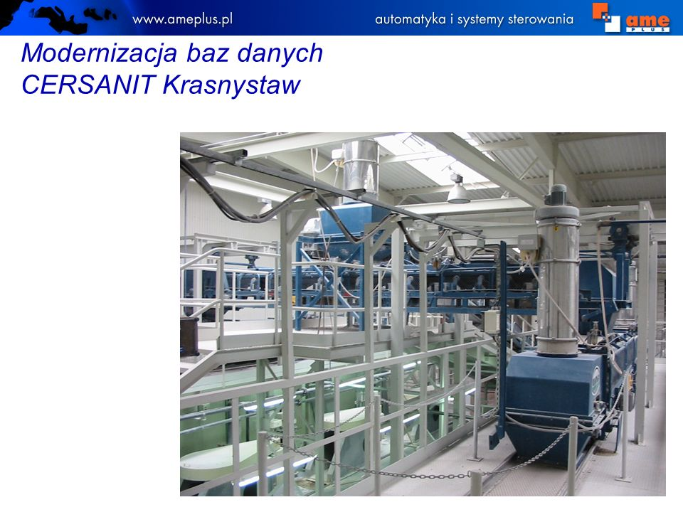 Modernizacja baz danych CERSANIT Krasnystaw