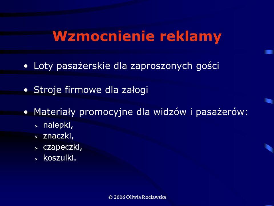 Wzmocnienie reklamy Loty pasażerskie dla zaproszonych gości