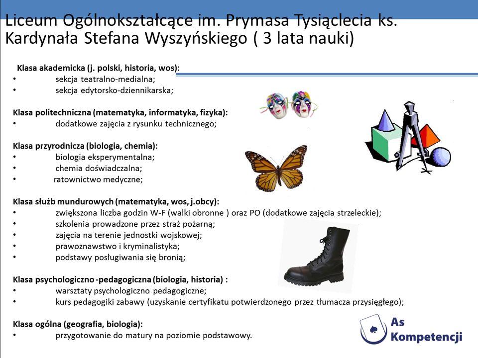 Liceum Ogólnokształcące im. Prymasa Tysiąclecia ks