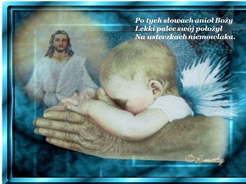 Po tych słowach anioł Boży