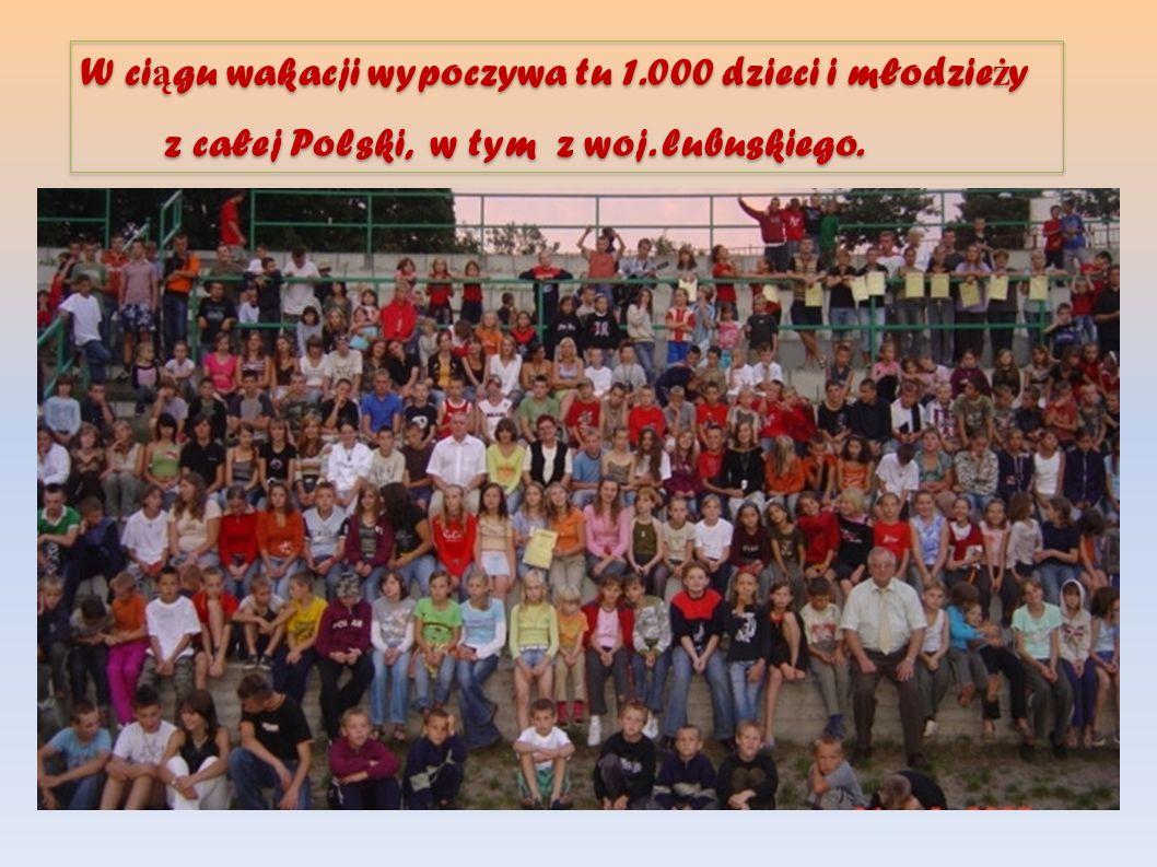 W ciągu wakacji wypoczywa tu 1.000 dzieci i młodzieży
