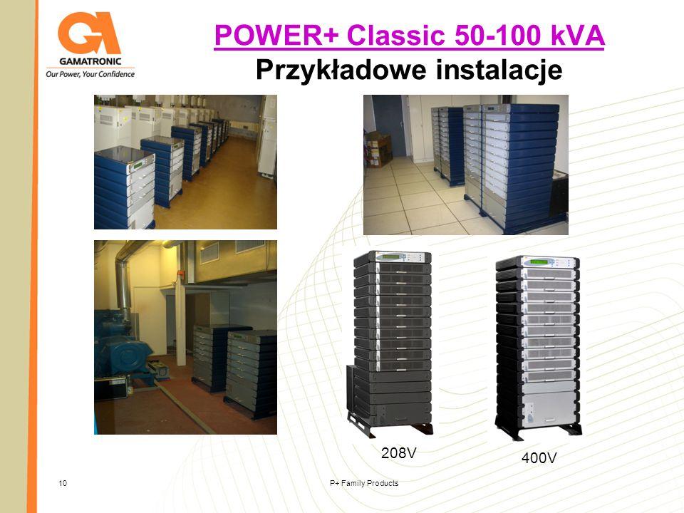 POWER+ Classic 50-100 kVA Przykładowe instalacje