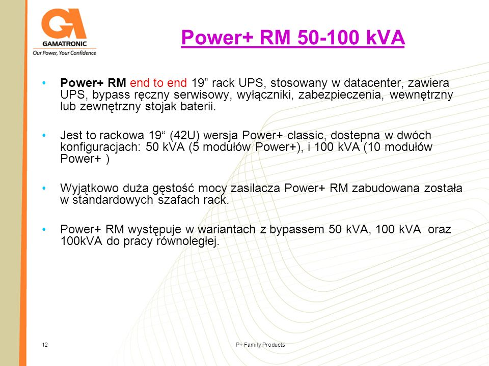 Power+ RM 50-100 kVA