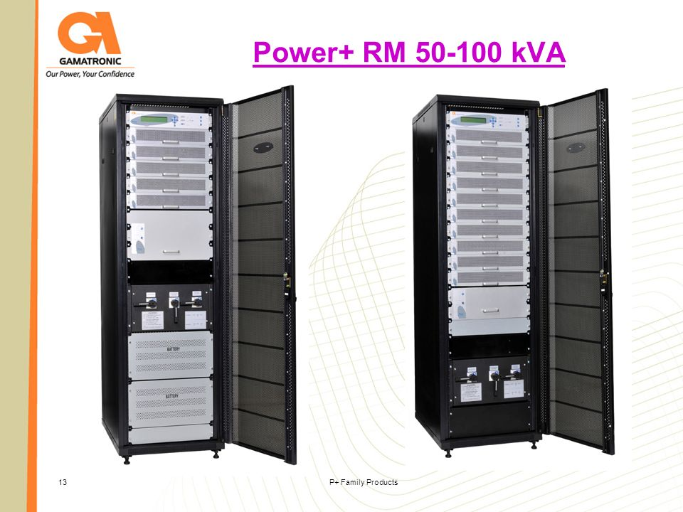 Power+ RM 50-100 kVA P+ Family Products