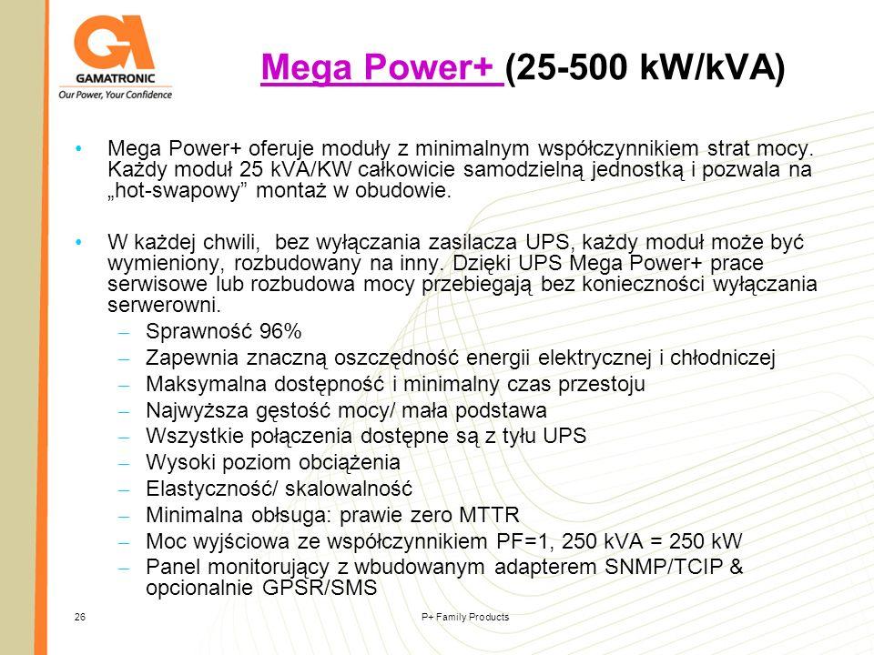 Mega Power+ (25-500 kW/kVA)