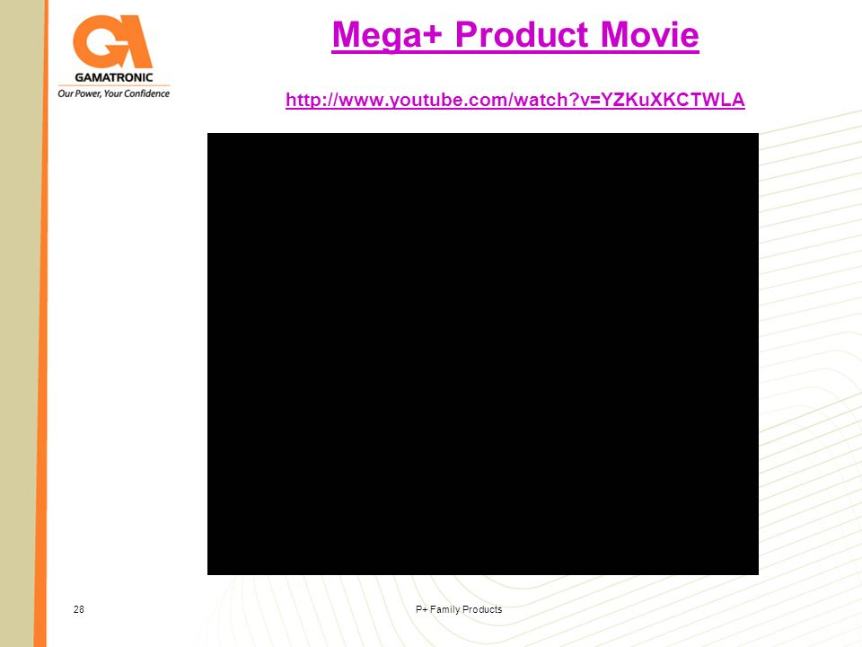 Mega+ Product Movie http://www.youtube.com/watch v=YZKuXKCTWLA