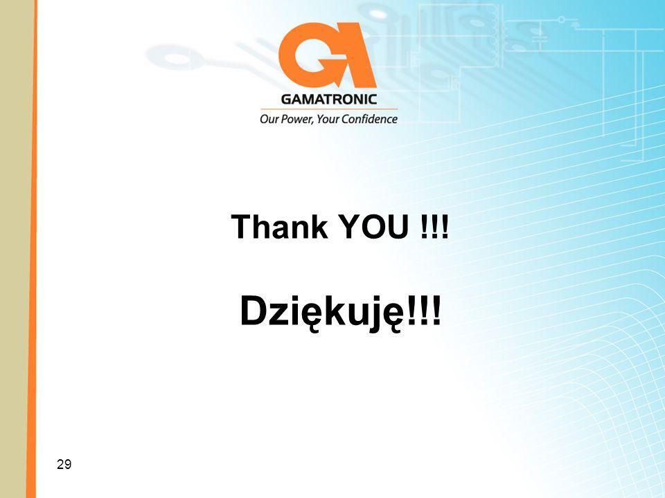 Thank YOU !!! Dziękuję!!!