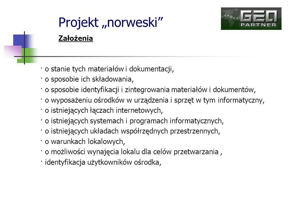 """Projekt """"norweski Założenia"""