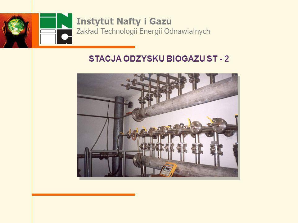 STACJA ODZYSKU BIOGAZU ST - 2