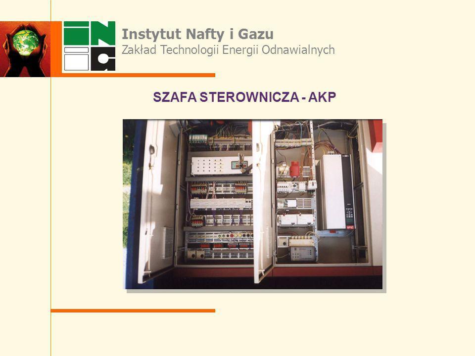 Instytut Nafty i Gazu SZAFA STEROWNICZA - AKP