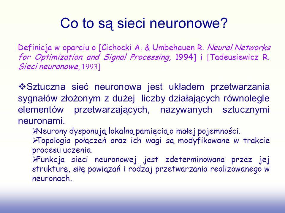Co to są sieci neuronowe