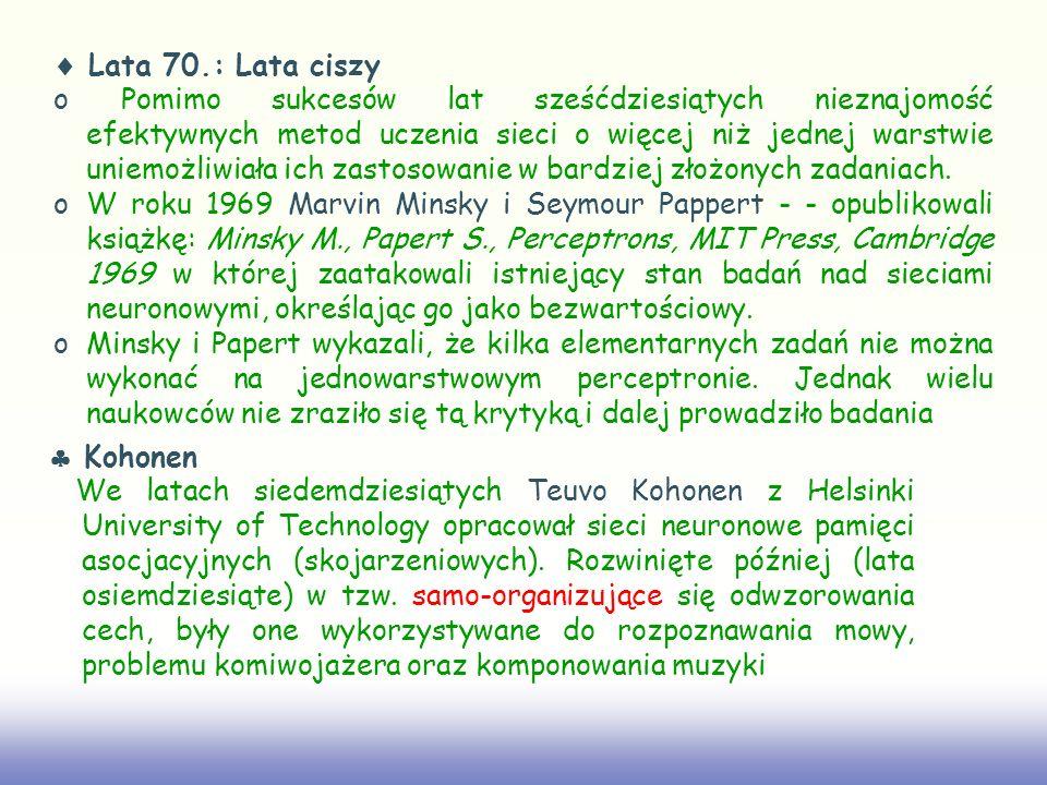  Lata 70.: Lata ciszy