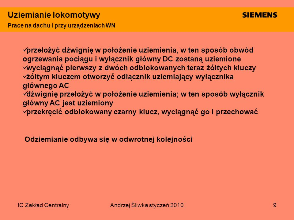 Andrzej Śliwka styczeń 2010