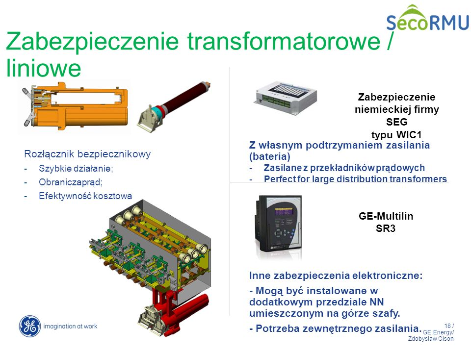 Zabezpieczenie transformatorowe / liniowe