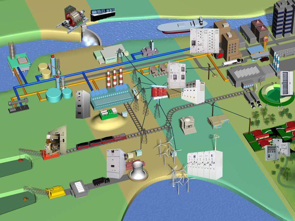 Rozdzielnice DC Transformatory suche Generowanie mocy Rozdzielnice NN Rozdzielnice SN