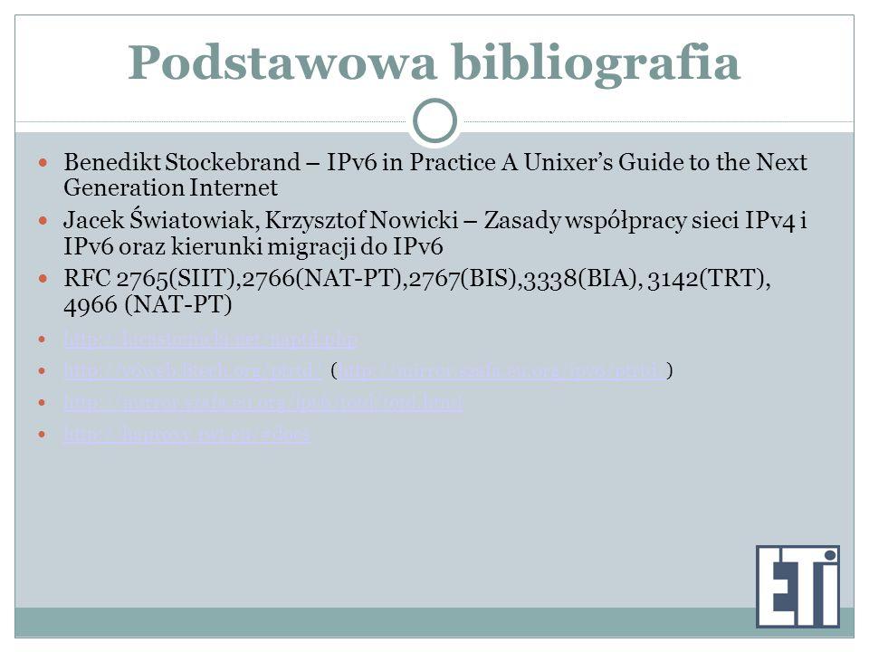 Podstawowa bibliografia
