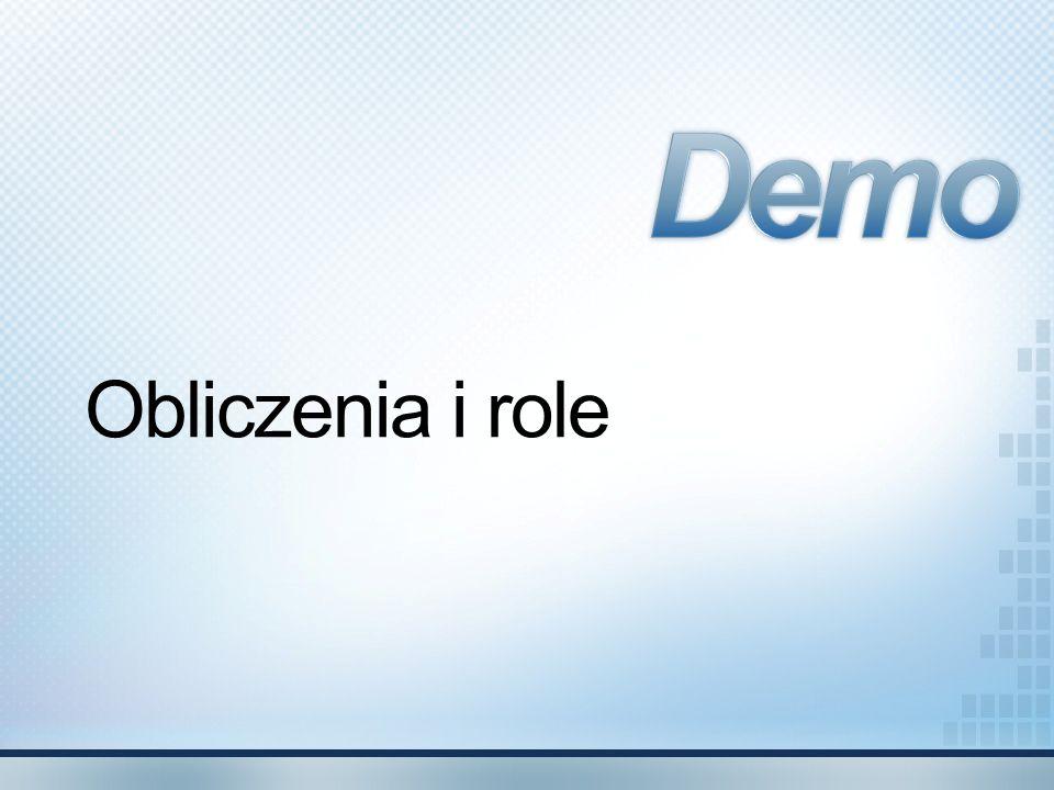 Demo Obliczenia i role