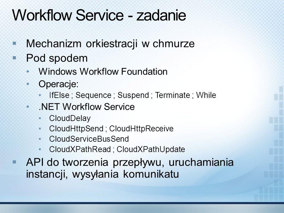 Workflow Service - zadanie