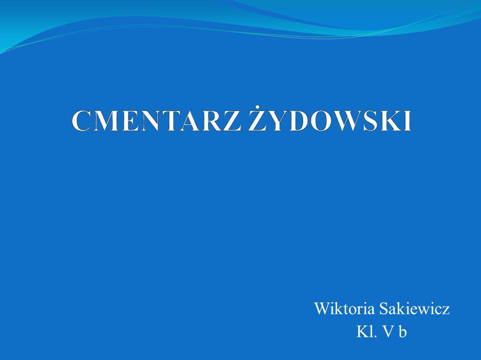 Wiktoria Sakiewicz Kl. V b