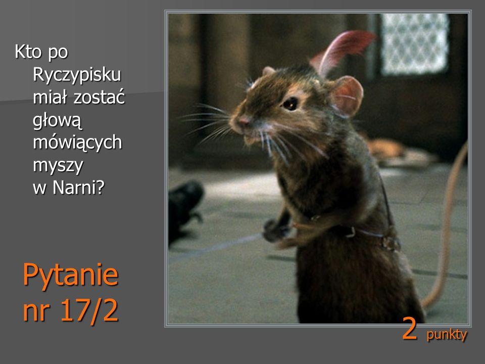 Kto po Ryczypisku miał zostać głową mówiących myszy w Narni