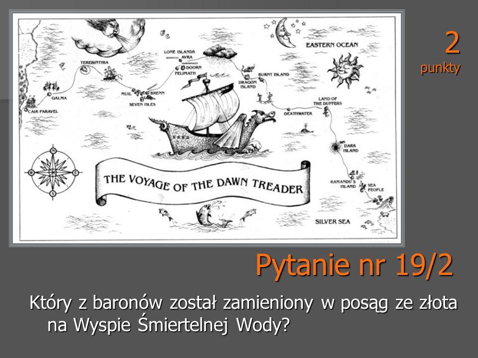 2 punkty Pytanie nr 19/2.