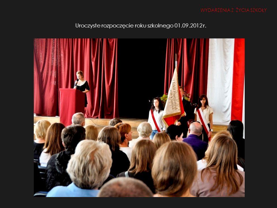 Uroczyste rozpoczęcie roku szkolnego 01.09.2012 r.