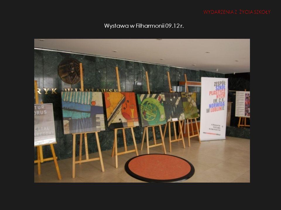 Wystawa w Filharmonii 09.12 r.