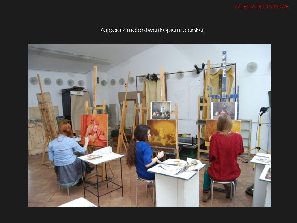 Zajęcia z malarstwa (kopia malarska)