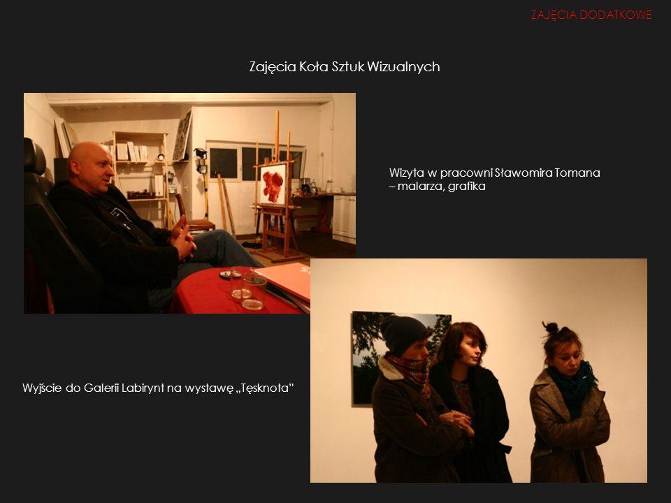 Zajęcia Koła Sztuk Wizualnych