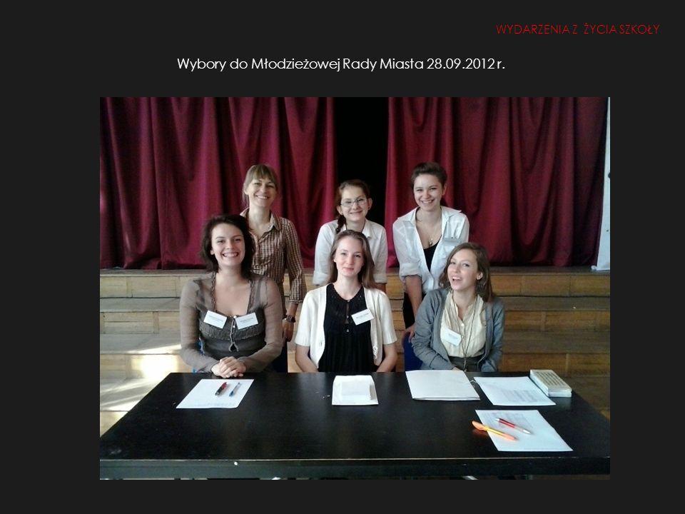 Wybory do Młodzieżowej Rady Miasta 28.09.2012 r.