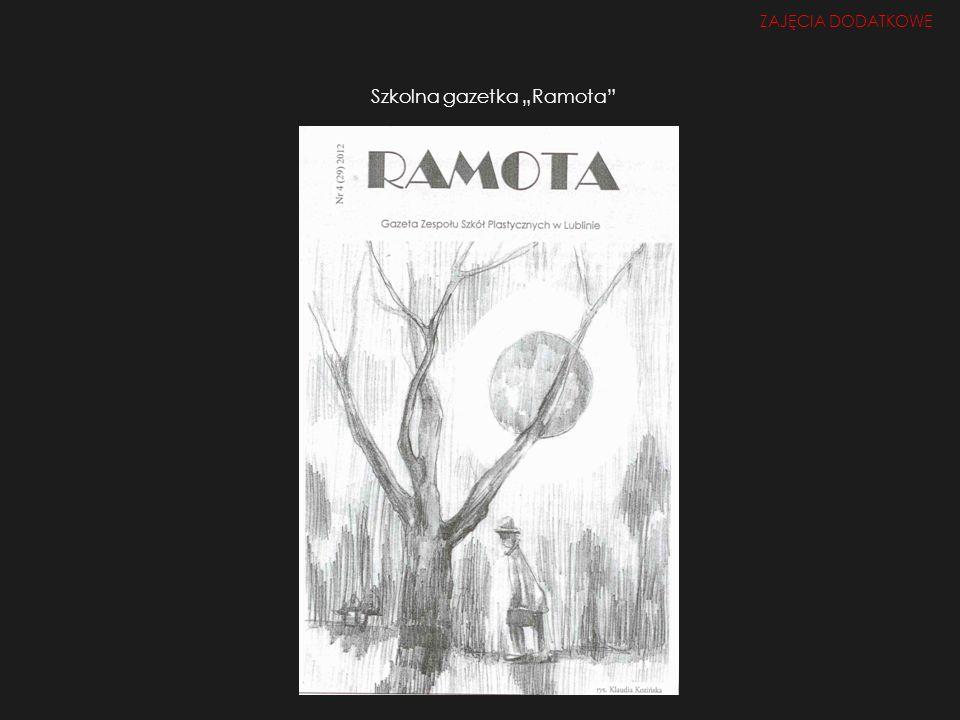 """Szkolna gazetka """"Ramota"""
