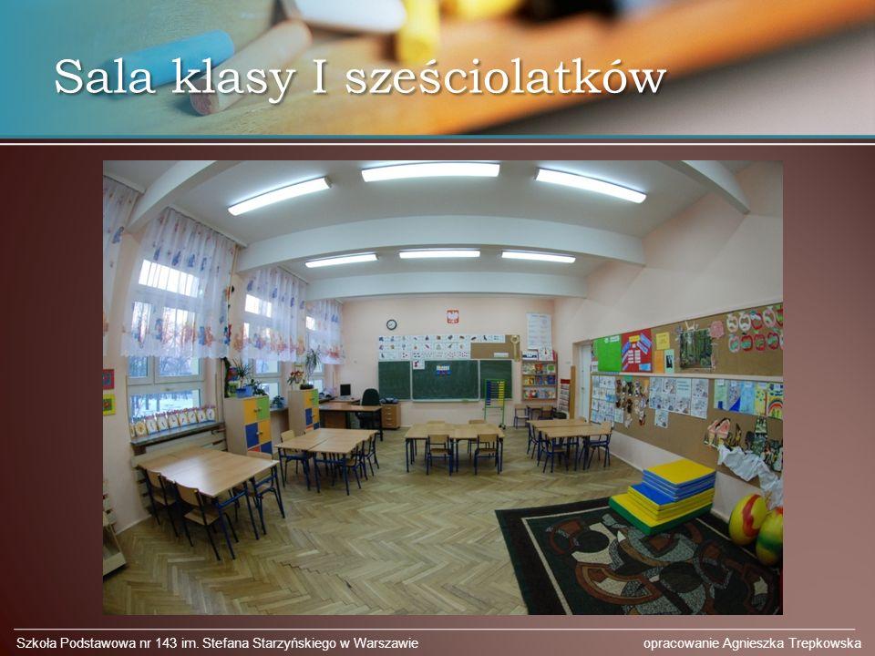 Sala klasy I sześciolatków