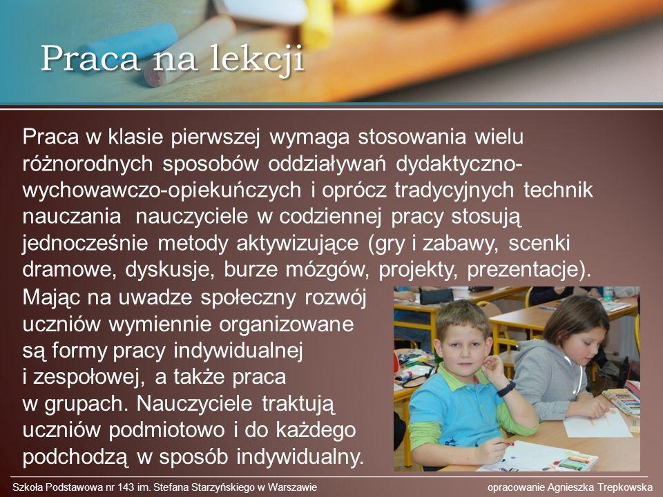 Praca na lekcji