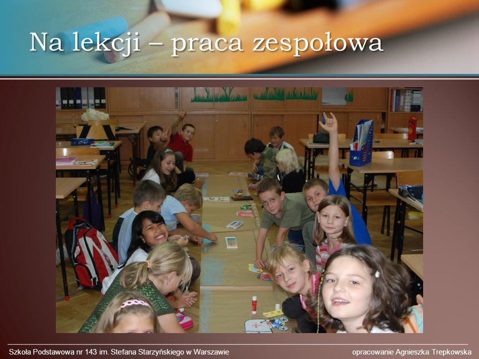 Na lekcji – praca zespołowa