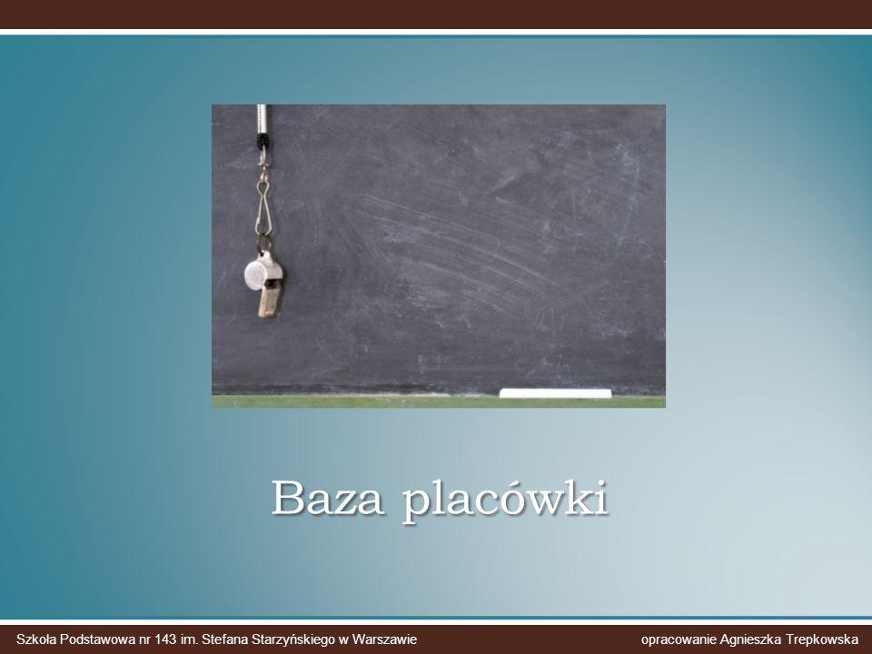Baza placówki Szkoła Podstawowa nr 143 im.