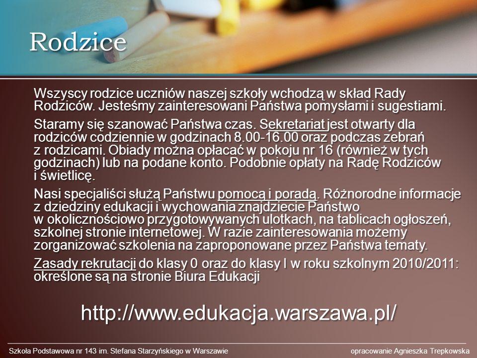 Rodzice http://www.edukacja.warszawa.pl/