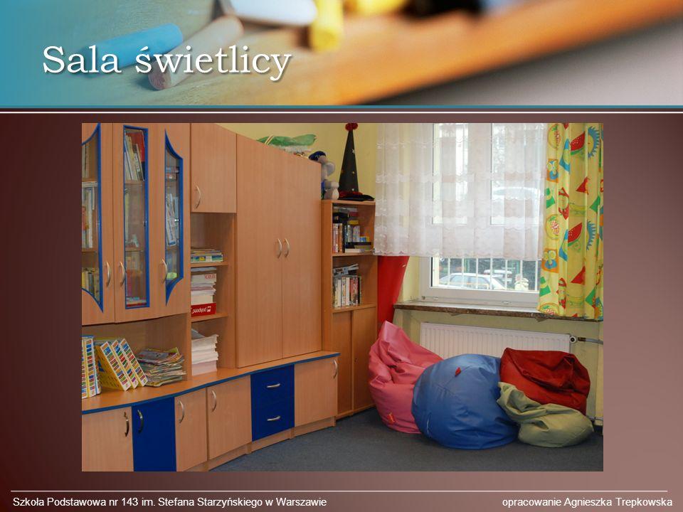 Sala świetlicy Szkoła Podstawowa nr 143 im.