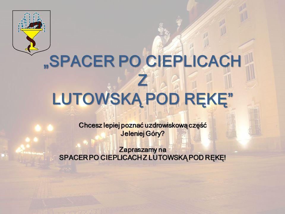 """""""SPACER PO CIEPLICACH Z LUTOWSKĄ POD RĘKĘ"""