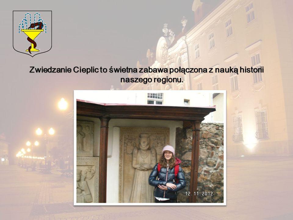 Zwiedzanie Cieplic to świetna zabawa połączona z nauką historii naszego regionu.
