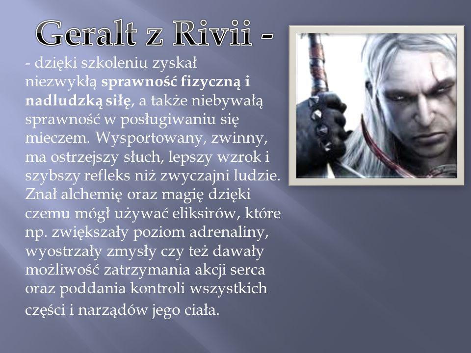 Geralt z Rivii -