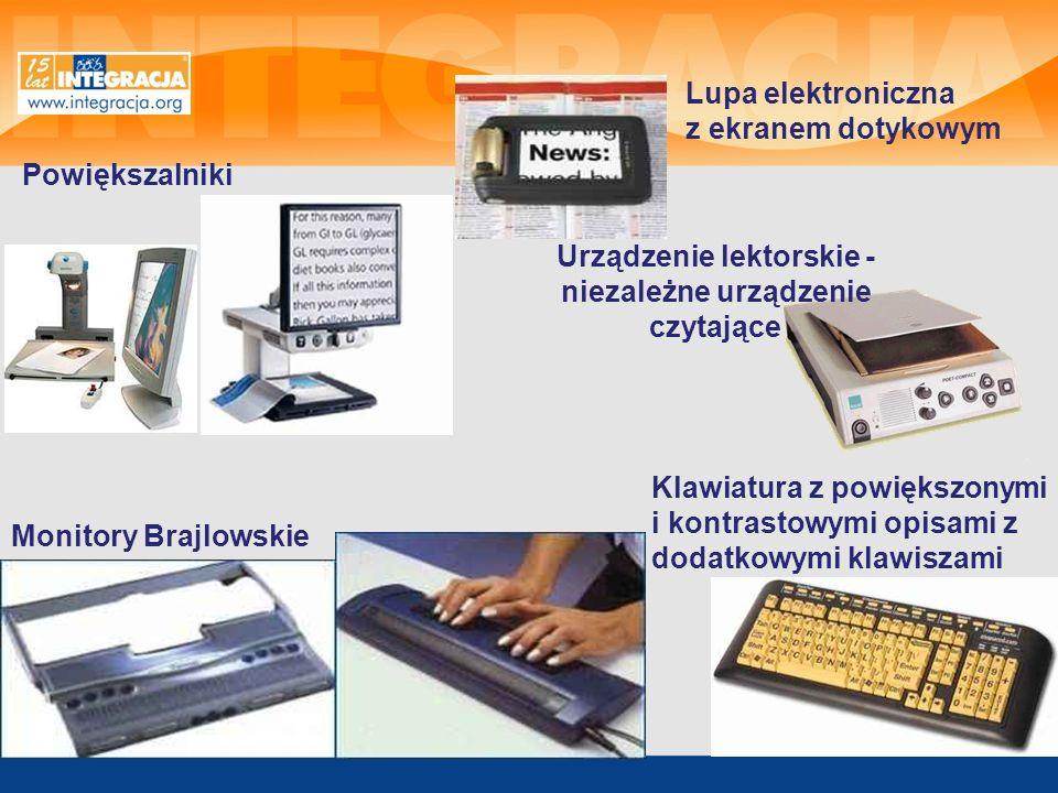 Urządzenie lektorskie - niezależne urządzenie czytające