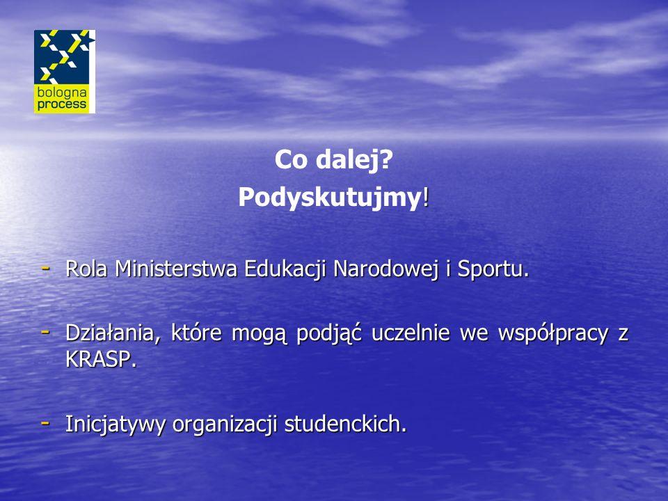 Co dalej Podyskutujmy! Rola Ministerstwa Edukacji Narodowej i Sportu.