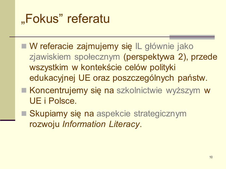 """""""Fokus referatu"""