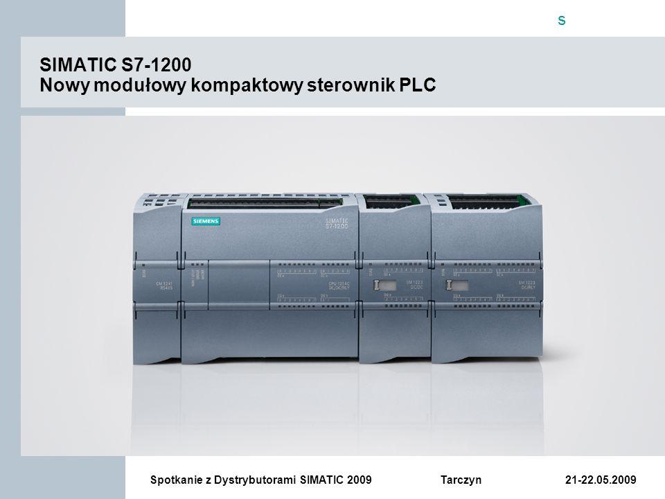 SIMATIC S7-1200 Nowy modułowy kompaktowy sterownik PLC