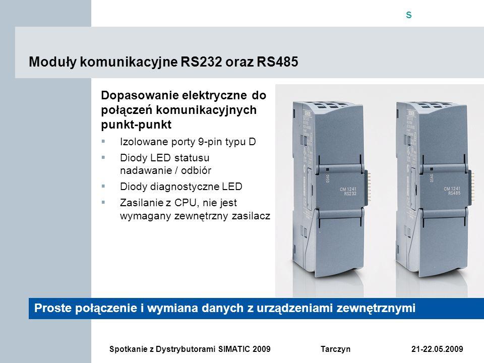 Moduły komunikacyjne RS232 oraz RS485