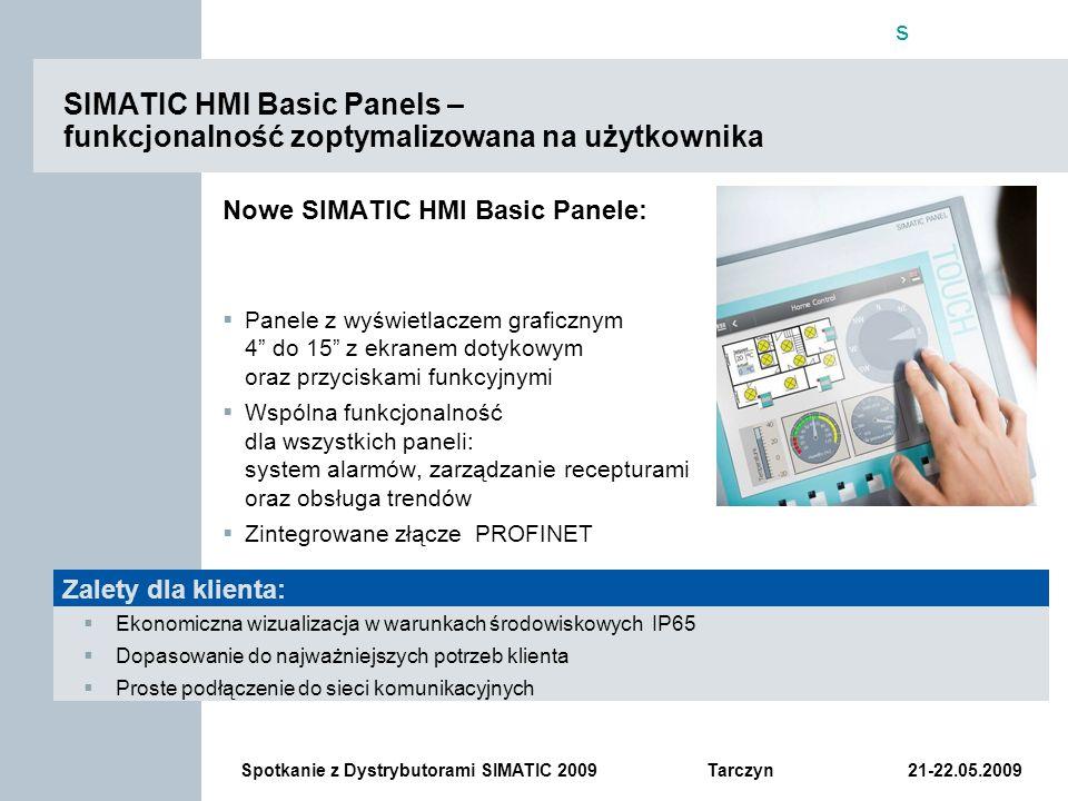 SIMATIC HMI Basic Panels – funkcjonalność zoptymalizowana na użytkownika