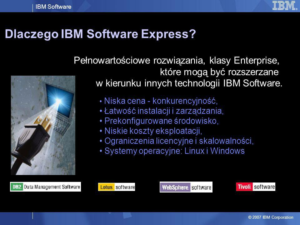 Dlaczego IBM Software Express